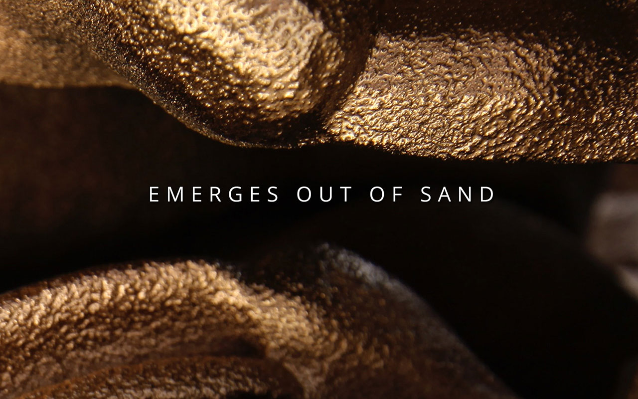 Digital Grotesque - Emerges out of sand