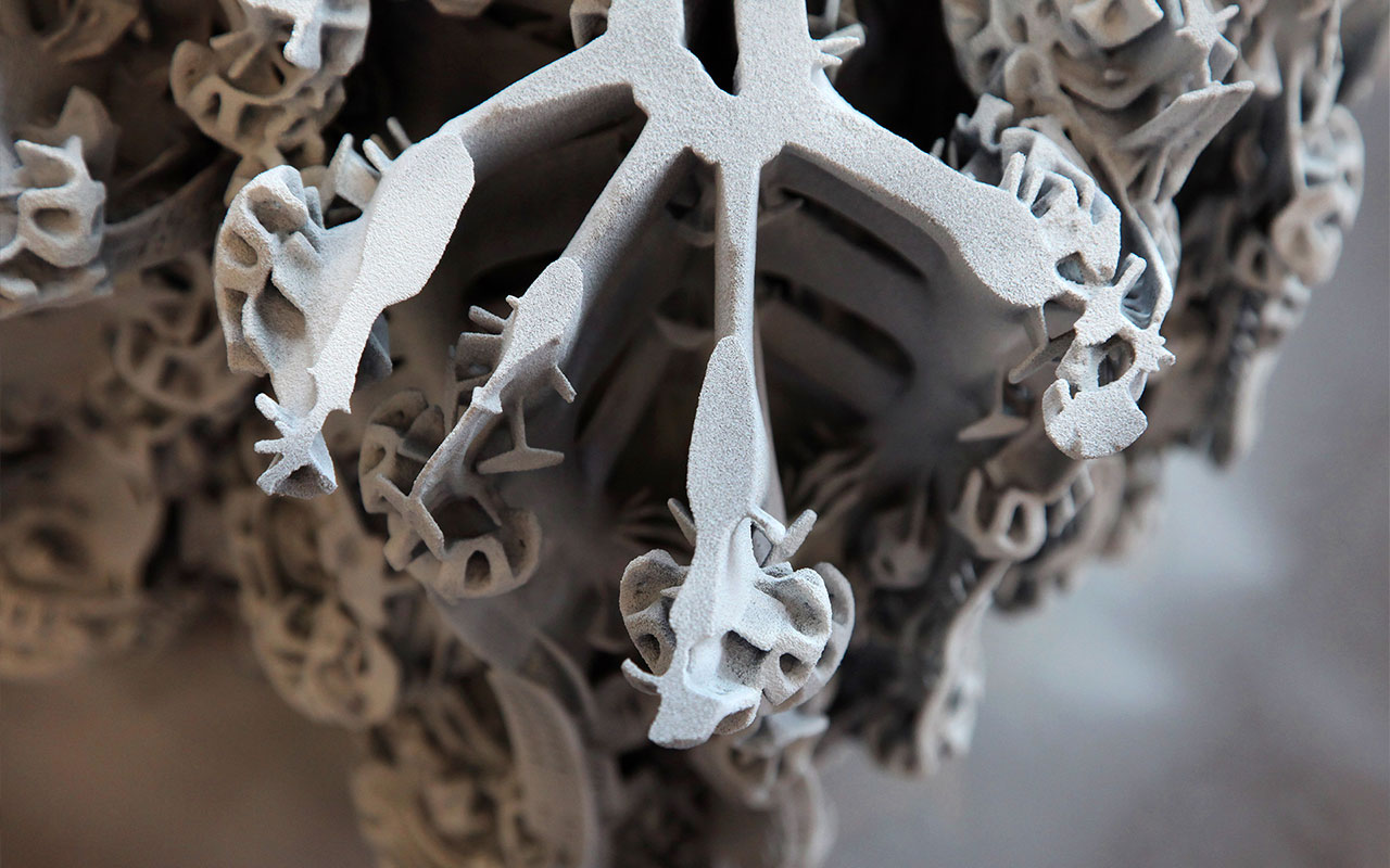 Digital Grotesque - 3D Printed element