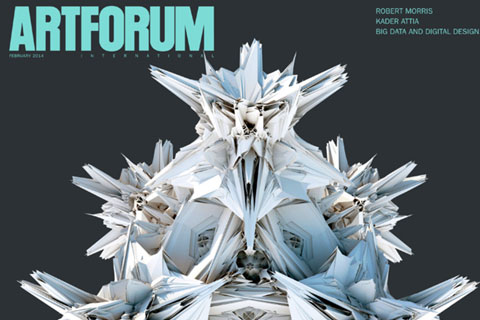 Artforum Cover February 2014 Michael Hansmeyer