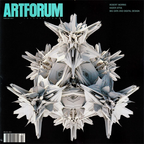 Artforum, cover image, Michael Hansmeyer